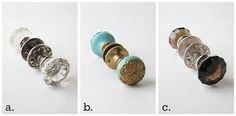 decorated door knobs - Google Search