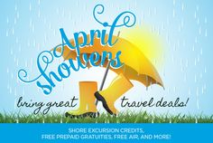 Shore Excursion Credits, Free Pre-Paid Gratuities, Free Air and more. #cruisedeals #traveldeals