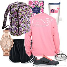 Preppy outfit on the hunt Preppy Outfits For School, Lazy Day Outfits, College Outfits, Summer Outfits, Casual Outfits, Cute Outfits, Fashion Outfits, Preppy Style, My Style