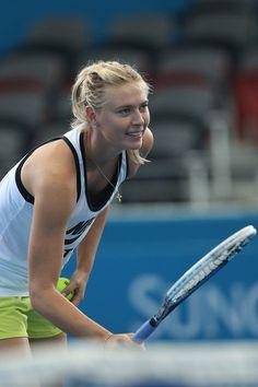 Maria Sharapova Photo - Brisbane International - Practice Sessions