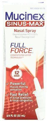awesome Mucinex Sinus-Max Full Force Nasal Decongestant Spray 0.75 Ounce - For Sale View more at http://shipperscentral.com/wp/product/mucinex-sinus-max-full-force-nasal-decongestant-spray-0-75-ounce-for-sale/