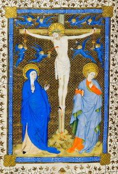Crucifixion | Missal | France, probably Troyes | ca. 1400 | The Morgan Library & Museum