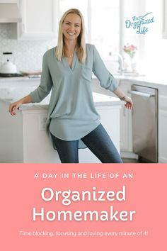 Day in the life of an organized homemaker Life Organization, Homemaking, Clean House, No Time For Me, Organised Life, Tunic Tops, Homeschooling, Day, Household
