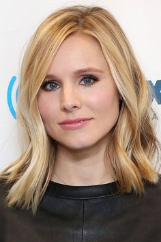 Get Kristen Bell's natural curl look- no curling iron necessary!