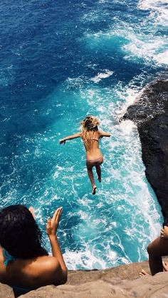 Cliff Jump - scared of heights and scared of deep water so this would be a huge feat