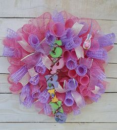 Check out this item in my Etsy shop https://www.etsy.com/listing/499312726/spring-wreath