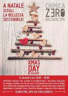 A Natale scegli la Bellezza Sostenibile  ChimicaZero XMAS DAY 14 Dicembre 2014