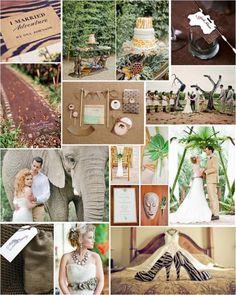 9 best Jungle theme wedding images on Pinterest Jungle theme