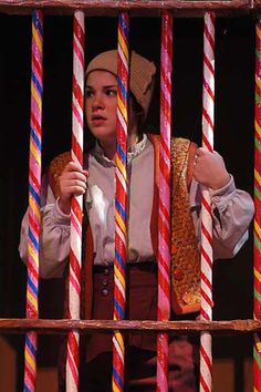 University Productions Presents - Hansel and Gretel. Cage.