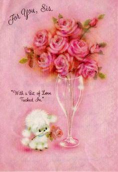 To both my wonderful sisters!