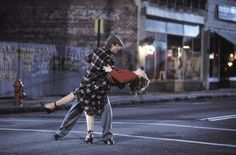 Dancing in the street(: I want this... <3