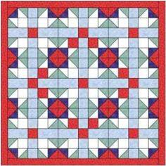 Bright jewel quilt