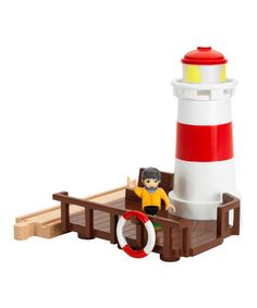 Another great find on #zulily! Lighthouse Toy #zulilyfinds