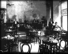 ♥ Cafe en Argentina over 100 years ago Visit Argentina, Spanish Colonial, Baja California, Old Postcards, Belle Epoque, Old Pictures, Historical Photos, Wonderful Places, Tango