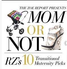 Mommy fashion!  Rachel Zoe's 10 Transitional Maternity Picks (did you see this, @Ashley Wint?)