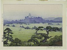 Toshi Yoshida (Japanese, 1911-1995), Shirasagi-jō (Shirasagi Castle), 1942