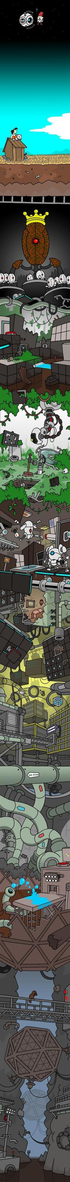 Portal 2: From the sky to the core. No pun intended. (Except maybe a little.)