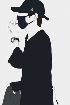 Trendy Clothes Drawing Boy Ideas - Image 8 of 25 Foto Face, Anime Boy Zeichnung, Gatos Cool, Taehyung Fanart, Anime Muslim, Hypebeast Wallpaper, Handsome Anime, Bts Drawings, Dark Anime
