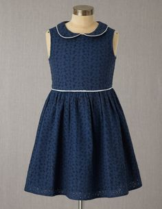 Broderie Party Dress- MINI BODEN