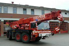 nva feuerwehr | Fire Engines Photos - Feuerwehr Osnabrück Liebherr Feuerwehrkran