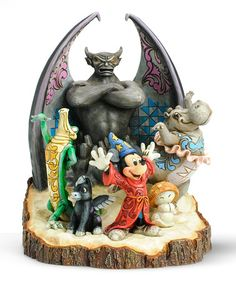 Carved by Heart Fantasia Figurine. Fantasia is seriously one of my favorite all time Disney movies