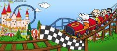 Snoopy Coaster
