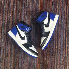 058d8e57833b NIKE AIR JORDAN 1 X FRAGMENT BLACK SPORT ROYAL BLUE WHITE 716371 040  450  Shoe Sites