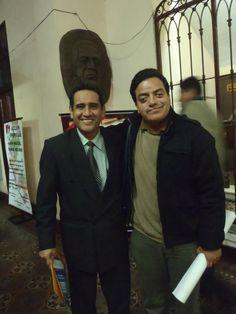 Con el congresista Mesias Guevara. (2011)