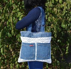 Welcome to my shop! All models that I offer to you are handmade with love and fantasy! I recycle denim jeans in these very useful, comfortable and original urban bags. Whether you will go to work, go shopping, to school, university or just on a walk, one of these bags will be