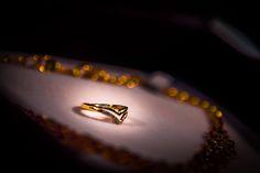 V shape bride wedding ring