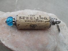 A personal favorite from my Etsy shop https://www.etsy.com/listing/229499130/blue-cork-key-chain-stocking-stuffers