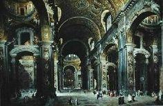 Il cardinale Melchior de Polignac ha visitato San Pietro Giovanni Paolo Pannini