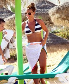 Coleen Rooney spotted in Portugal in VIX Malawi bikini