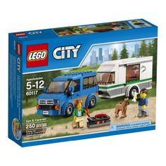 Lowest LEGO Van & Caravan 250 pieces for $14.82. (5.9 cents per brick!)
