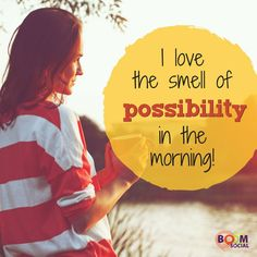 Happy Friday! Possibilities are everywhere! ;-) #fridaymotivation