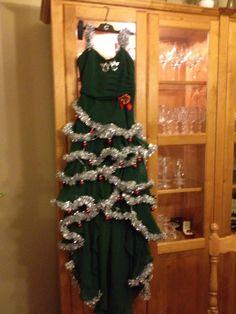 Christmas tree dress of mine