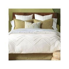 Shop the Sandler 8 Piece Duvet Cover Set at Perigold, home to the design world's best furnishings for every style and space. Plus, enjoy free delivery on most items. Earthy Bedroom, Natural Bedroom, White Duvet Covers, Luxury Bedding Collections, Duvet Cover Sizes, Master Bedroom Design, Male Bedroom, Master Suite, Master Bath
