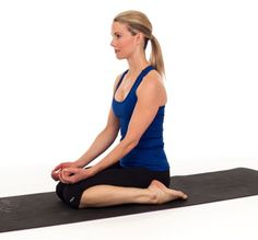 The Hero Pose or Virasana | Yoga Posture with technique and steps | Yoga Benefits Click on the image for full details