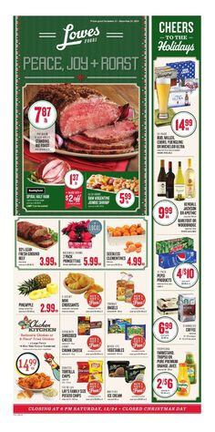 Lowes Weekly Ad December 21 - 24, 2016 - http://www.olcatalog.com/grocery/lowes-weekly-ad-circular.html