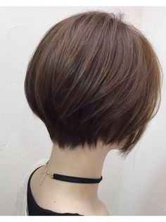 Pin on 髪型 Asian Short Hair, Short Hairstyles For Thick Hair, Asian Hair, Short Hair Cuts For Women, Japanese Short Hairstyle, Shot Hair Styles, Hair Affair, Hair 2018, Hair Today