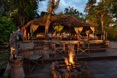 The Bar at Selous River Camp River Camp, Safari Adventure, Dining Area, Camping, Bar, Outdoor Decor, Home Decor, Campsite, Homemade Home Decor