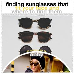 Finding Sunglasses That Fit Your Face and Where to Find Them