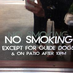 Guide dog privileges
