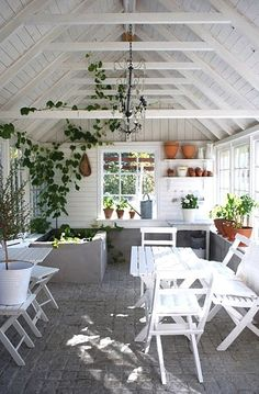 Every thought about how to house those extra items and de-clutter the garden? Building a shed is a popular solution for creating storage space outside the house. Whether you are thinking about having a go and building a shed yourself Greenhouse Shed, Greenhouse Gardening, Gardening Tools, Cheap Greenhouse, Pallet Greenhouse, Outdoor Greenhouse, Aquaponics Garden, Outdoor Sheds, Outdoor Rooms