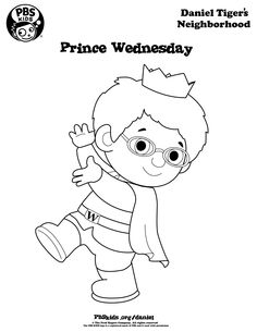 daniel tiger coloring pages - Daniel Tiger Coloring Pages