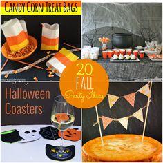 20 fall party ideas-- Tatertots and Jello #DIY #Fall