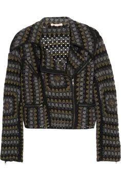•Heirloom | Hand crocheted biker jacket | Christopher Kane with Johnston's of Elgin | 2011