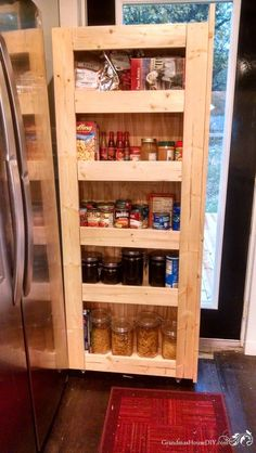 How to: Build Your Own Rolling Pantry!