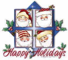 Happy Holidays - Mary Engelbreit
