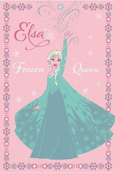 Παιδικά χαλιά Disney Junior - ΒΙΟΚΑΡΠΕΤ. Frozen - Elsa